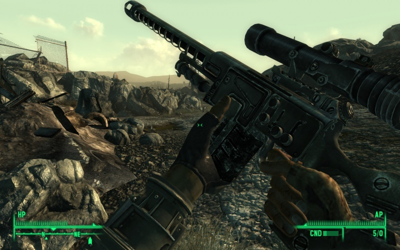 File:FO3 Sniper reload.jpg - Internet Movie Firearms Database - Guns in Movies, TV and Video Games
