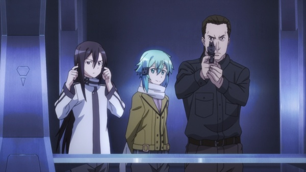Kirito And Sinon Pass The Beretta Wielding Player Being Very Much Out Of His Element Ep4