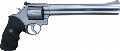 Smith Wesson Model 686 8 Barrel Pachmayr Grips