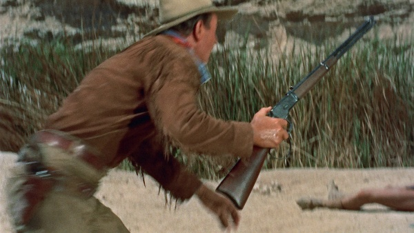 Image result for john wayne hondo rifle