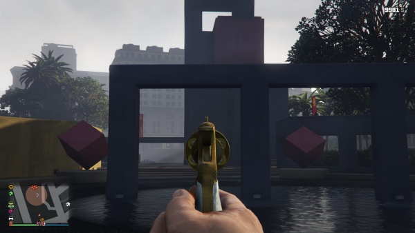 gta 5 pc first person iron sights