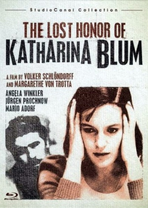 the lost honor of katharina blum essay The lost honor of katharina blum is a film about a woman who spends a night wotha terrorist and then finds herself the victim of the police and harassed by the press until she takes violent action she becomes a murderess because her honor is destroyed.
